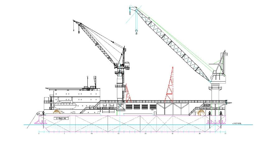 TENDER ASSISTED DRILLING BARGE - Dietswell
