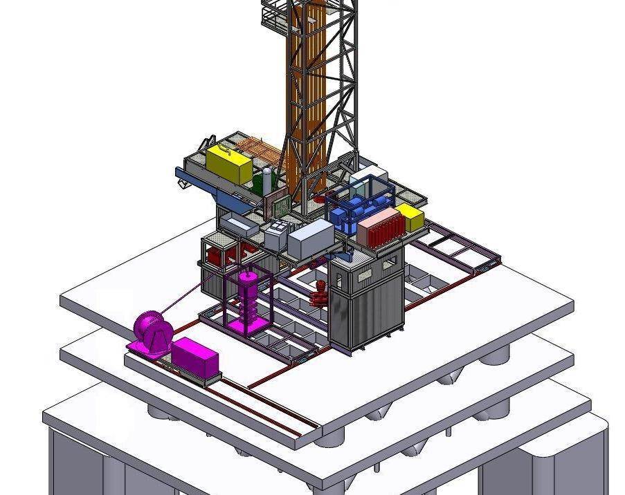 Drilling Equipment Set installed - Dietswell